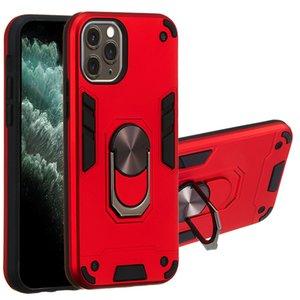 Handy-Fälle rückseitige Abdeckung Ständer Halter Anti-Sturz-Serie Militärrüstung Handy-Schutz-Fall für Samsung-A91 A81 A40 note10