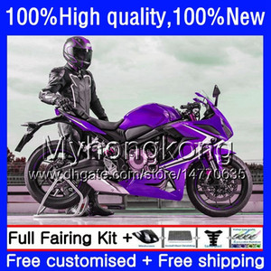 Bodywork For HONDA CBR 650F CBR650F 11 12 13 2014 2015 53HM.83 CBR650 F CBR-650F CBR Purple new 650 F 2011 2012 2013 14 15 16 Fairing kit