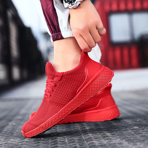 Top quality black white red grey Casual Shoes Top sale Men Women boy girl Sneakers breathable Outdoor Cheap sports shoes