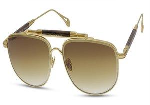 Высокое качество Унисекс Ретро Сплав Полный RIM Поляризованный Рамка Дизайн Бренд Goggle UV400 Водитель Солнцезащитные Очки Очки Oculos