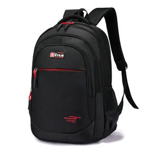 Sutuoop Hommes Fashion Oxford Oxford Sac à dos Sac à dos homme Sac à l'école Notebook Rucksack Teenage Adolescents Travel Schoolbag Pack pour homme Q0111