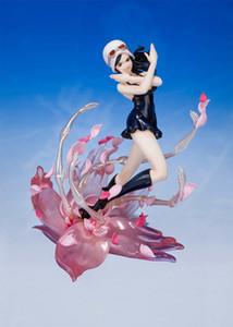Один кусок нулю Nico Robin Mil Fleur Campo de Flores Anime Фигура Сексуальная девушка Мисс Allsunday Взрослый Рисунок ПВХ Действие Фигурные игрушки Y0112