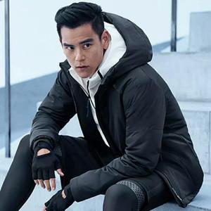 Erkek Ceket Pamuk-Yastıklı Giysileri Kış Yeni Rahat Ve Moda erkek Pamuk-Yastıklı Ceket Sıcak ve Rüzgar Geçirmez Erkek Ceket Marka Giyim