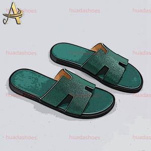 2020 New Arrivals Mens Summer Sandals Non-slip Beach Slide Casual Slippers Comfort Shoes Print Leather 38-44