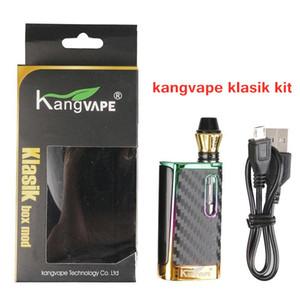 Echte Kangvape Klask Box Mod MOD Kit 650mAh Klask Batterie Keramikspule K3-Patrone 0.5ml Dicke Öl Vape-Kartuschen 100% Original