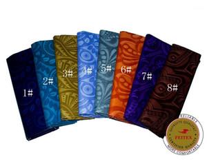 Fabric Feitex Arrival African Bazin Riche Good 5Yards Piece Africa Ghalila Guinea Brocade Jacquard Shadda1