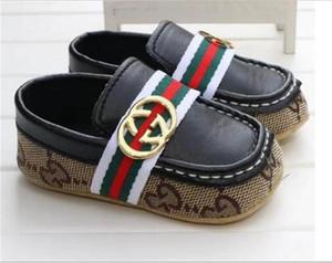 Sıcak Satış Yenidoğan Bebek Erkekler Kızlar Yumuşak Alt Ayakkabı Casual Önce Çocuklar Yürüyenler Çocuk Loafers Bebek Ayakkabı Bebek Koşu Düz Ayakkabı