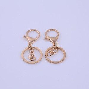 30pcs lot serre-mousqueton et anneau de fer nickel sans nickel boucle de homard de haute qualité bricolage pour pendentif pendentif à petit composant Tassel H Wmtojz