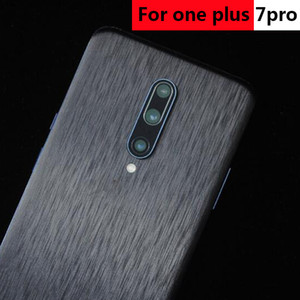 2020 New Mobile Phone Brushed Film Membrane Decal Skins For OnePlus 7 7T Pro Skin Sticker Protector
