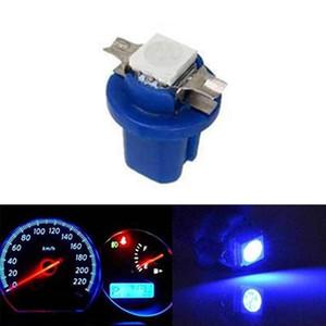 10pcs lampe Gauge voiture Dash instrument de tableau de bord Ampoule Wedge Intérieur 10X Lampe B8.5D 509T B8.5 Led 1 T5 SMD