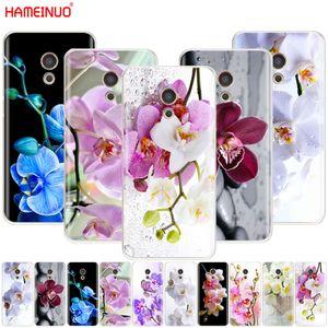 Hameinuo Capa de Telefone Celular com Orquídea, Meizu M6 M5 M5S M2 M3S MX4 MX5 MX6 Pro 6 5 U10 U10 Nota Mais Cor Capa de Telefone Móvel
