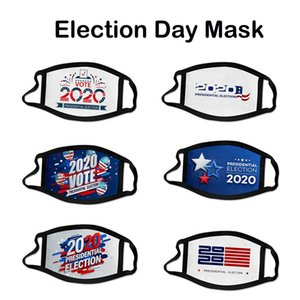 2020 USA Election Party Masks Unisex Trump Biden I Cant Breathe Printed Cosplay Cotton Mask Anti Dust Reusable Washable Soft Mouth US STOCK
