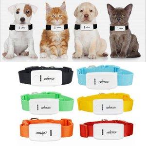 Pet Tracker TK909 Cena Mini GPS Tracker con Collare per cane gatto Locator Geo-recinto / Over Speed allarme / allarme di vibrazione nessuna scatola