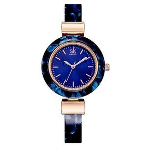Orologi Shengke braccialetto per catena Lady Fashion Dress Bangles Charme Stile abbigliamento delle donne donne orologio al quarzo Movimento al quarzo