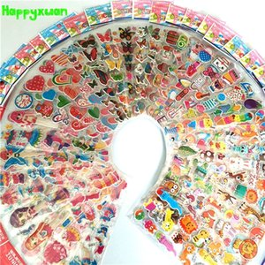 50 простыня / много мини-мультфильм пухлые наклейки дети одеваются животные фрукты классические игрушки для детей девочек школьный преподаватель награды 201021
