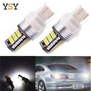 Phare de voiture 10pcs LED CANBUS LOGEMENTS Ampoules T25 3156 3157 T20 7443 7440 4014 45DSMD Turn Direction Indicateur Lampe11