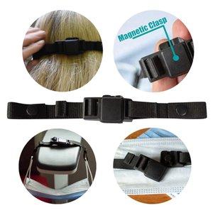 Botão magnético Elasticidade alça ajustável Non Máscara deslizamento Corda Prevent Ear Puxando Multi-função DDA622 Máscara Gancho Extensão