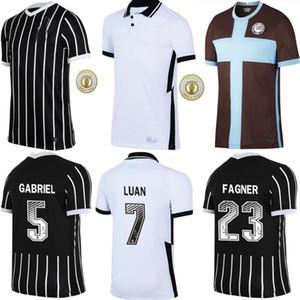 2020 2021 Коринфянам футбол трикотажные трикотажные CAMISA de Futebol Home Cassio Ronaldo Luan Fagner 20 21 Neto Men Youse Третья футболка