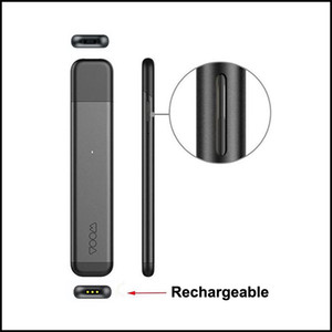 Original Itsuwa Voom Vape Pod Disposable Vape Pen 320mAh Rechargeable Battery 1.0ml Ceramic Coil Empty Pod Cartridge for Thick Oil