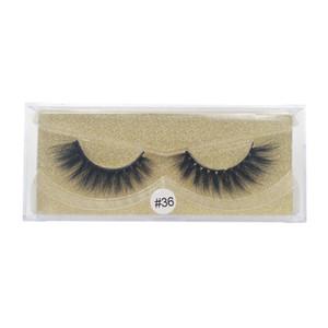 1 Pair False Eyelashes Mink Lashes 3d Mink Hair Maquillaje Fake Eyelashes Hand Made Makeups Faux Eyelashes Extension Mink Cilios jllqqo