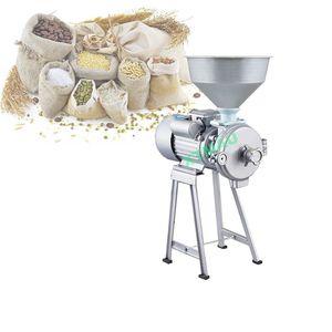 Húmedo y eléctrica molinillo doméstico molinillo de maní máquina de refinación seco para los granos de queso de soja harina de maíz salsa de sésamo caliente chile Refinador