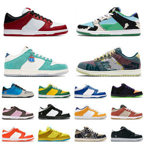 chunky dunky sb dunk low 2020 Top Mode Authentique Dunks Hommes Chaussures De Course Chunky Dunky Bears VALENTINE DAY Outdoor Sneakers Syracuse Femmes Formateurs Taille 36-45