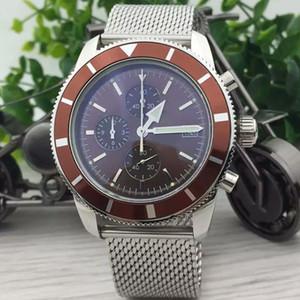 ساعة رجالي فاخر 1884 متعددة الوظائف كوارتز كرونوغراف ساعة أعلى جودة الفولاذ المقاوم للصدأ سوار رجل مصمم ساعات المعصم