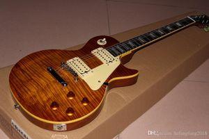 New Custom Shop arrives. 1959 r9 standard custom electric guitar. Tiger Flame Guitar Top Shows Real Photo