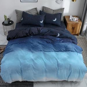 OLOEY Home Textile Cartoon Literie Beddingset Linge de lit Housse de couette drap de lit Lit Taie d'enfant à C1020