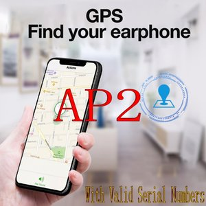 2nd Generation H1 Earbuds With Valid SNs Change Name Wireless Charging GPS Location Metal Hinges Bluetooth Earphone Call Siri 1562 Chip