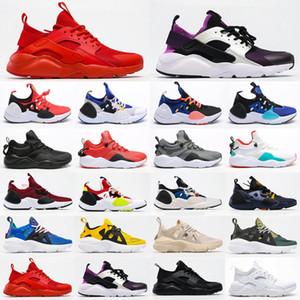 2021 Nuevo al por mayor de Huarache 1 4 7 8 9 para hombre de Brown para mujer atléticos zapatillas de deporte de los zapatos corrientes Tamaño 5,5-11