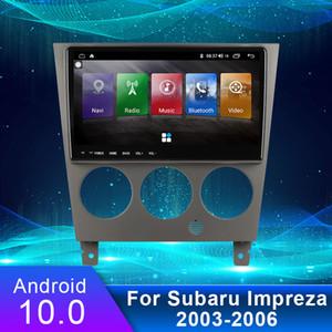 9-дюймовый Android 10.0 автомобильный радиоустановочный MultiMedia GPS навигация видео DVD Система + кадр для Subaru Impreza 2003-2006 4G WiFi USB