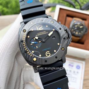 2020 высокое качество РАМ мужчины часы Joker Firenze 1860 Наручные часы Luminor Погружные инструменты выживания мужские часы D0048