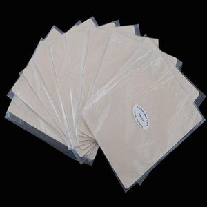 100pcs Wholesale Tattoo Drawing Practice Skin Exercises Training Blank Permanent Tattoo Makeup Exercise kin For Eyebrow and Lip#M9121