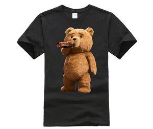 Anedreabe spor Kapşonlu Sweatshirt Hoodie tarafından Phiking Erkek Baskılı Güzel Ted Bear İçecek Bira Poster T Gömlek
