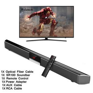 SR100 PLUS Домашний кинотеатр Беспроводной сабвуфер Bluetooth Soundbar акустическая система с 4шт полной частоте Горна 2pcs Басса для TV PC Phone