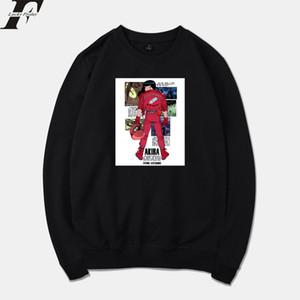 LuckyFridayF Akira Engraçado Hit Anime Filme Primavera Hoodies Quentes Homens / Mulheres Suéter Harajuku Tracksuit Homens Hoodie Moletom X1022