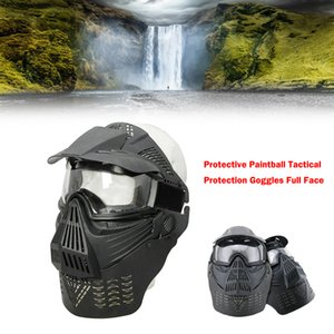 Areyourshop Goggles Full Face Mask Protective Paintball Tactical Protection Goggles Full Face Tactical equipment Accessories Parts