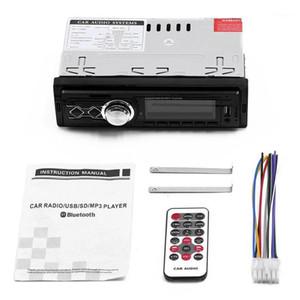 Car Radio Handsfree LCD Subwoofer 1 din Car Audio USB   SD   AUX Mini Card Four Channels Radio1