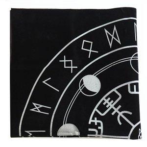 Retro Altar Tarot Kartları Çanta Parti Masa Örtüsü Masa Oyunları Sun Moon Tablecloth İçin Kehanet Wicca Velvet Goblen bbyViI bwkf