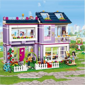 Compatible with lepining Friends Emma's House 41095 Building Blocks Emma Mia Figure Educational Toys For Children GirlGQ1