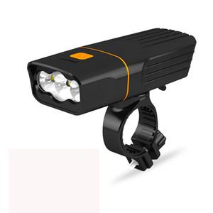 빛 3T6 프론트 라이트 1000 루멘 경고 새로운 자전거 빛 USB 충전 전면 및 꼬리 빛 산악 자전거