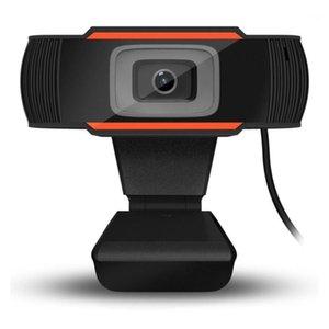 2020 webcam 480p 720p 1080P Caméra Web Full HD Streaming Video Live Broadcast Caméra avec microphone numérique stéréo1