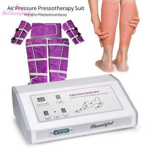 Lymphatique Désintoxication Costume Minceur Avec Régulations Endocriniennes de pression d'air Constipation Massage du corps Éliminez Anti-âge Machine de beauté