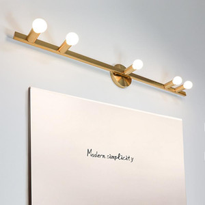 E14 소켓 전구가 가능한 욕실 벽 램프와 현대 LED 미러 조명기구 미러 LED 가벼운 화장실 램프