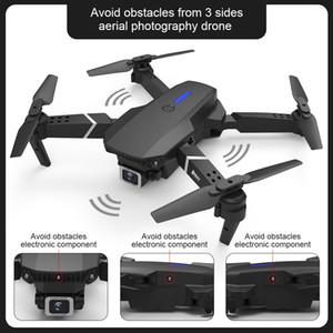 E525 PRO 4K HD Dual Camera Mini Drone, Auto Obstacle Avoidance on 3 Side, Track Flight, Smart Follow, Altitude Hold, Kid Toy Xmas Gift, USEU
