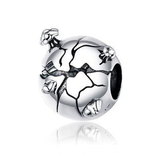Novo S925 Sterling Silver Proteger as contas da Terra DIY Bracelet Colar Acessórios
