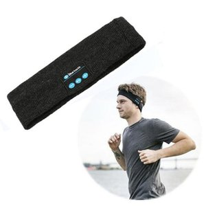 2021 New Wireless Bluetooth Headset Sports Headband For Men Women Stereo Music Hands-free For Running Jogging Music Headband