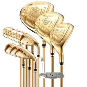 Golf club Katana Voltio Ninja plus Golf complete clubs driver+fairway wood+irons+putter graphite shaft cover freeshipping