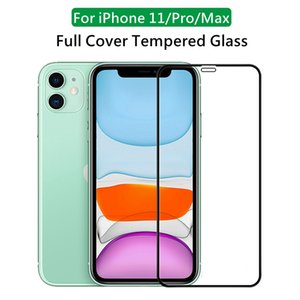 9H 2.5D Full Cover Tempered Glass for iPhone 12 Mini 11 Pro Max XR X XS Max Screen Protector for iPhone 6 7 8 Plus